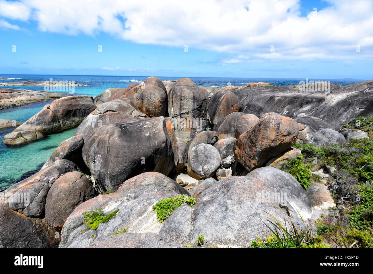 Elephant Cove, au Danemark, en Australie occidentale, Australie Photo Stock
