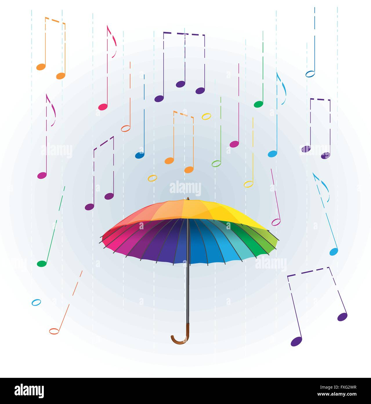 https://c8.alamy.com/compfr/fxg2wr/parapluie-arc-en-ciel-colores-comme-stylisee-avec-la-pluie-qui-tombe-des-notes-de-musique-abstract-illustration-musicale-fxg2wr.jpg