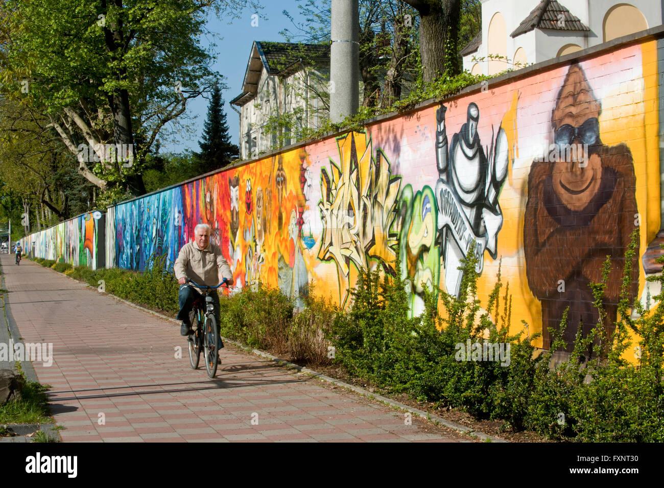 Köln, Deutschland, Riehl, Riehler Straße, Zoo-gesprühte - ARTgerecht Kunst für den Kölner Zoo ein Wettbewerb Im April 2011 vers Banque D'Images