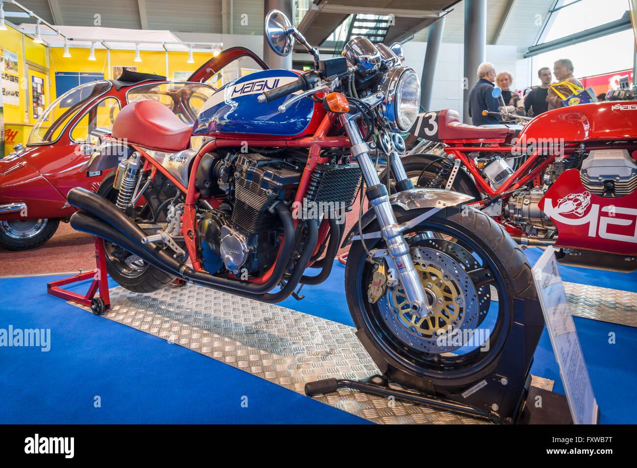Moto Sport MV Agusta Magni Sport 1200S, 1999. Plus grand d'Europe Exposition de voitures classiques 'RETRO' classiques Banque D'Images