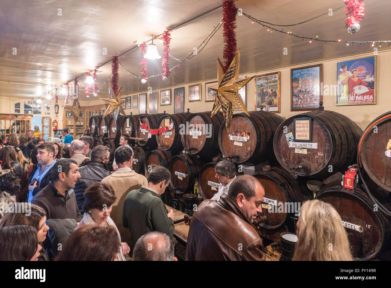 Oldest tapas bar photos oldest tapas bar images alamy - Casa plus malaga ...