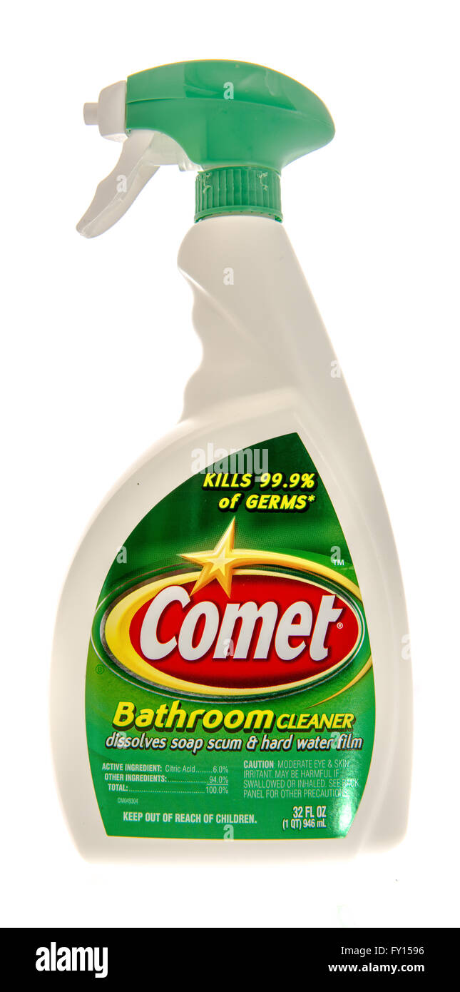 Bathroom Cleaner Photos Bathroom Cleaner Images Alamy