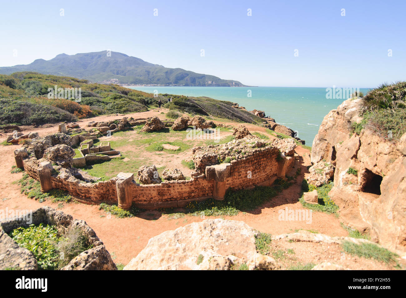 Ruines de Tipasa(Tipaza) Photo Stock
