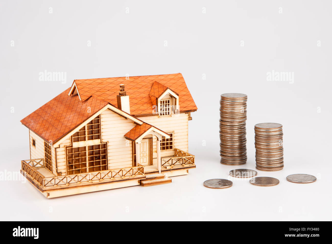 Concept de la maison Photo Stock