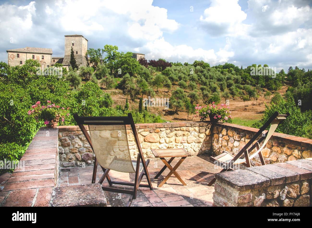transat balcon toscane paysage dtente - Transat Balcon