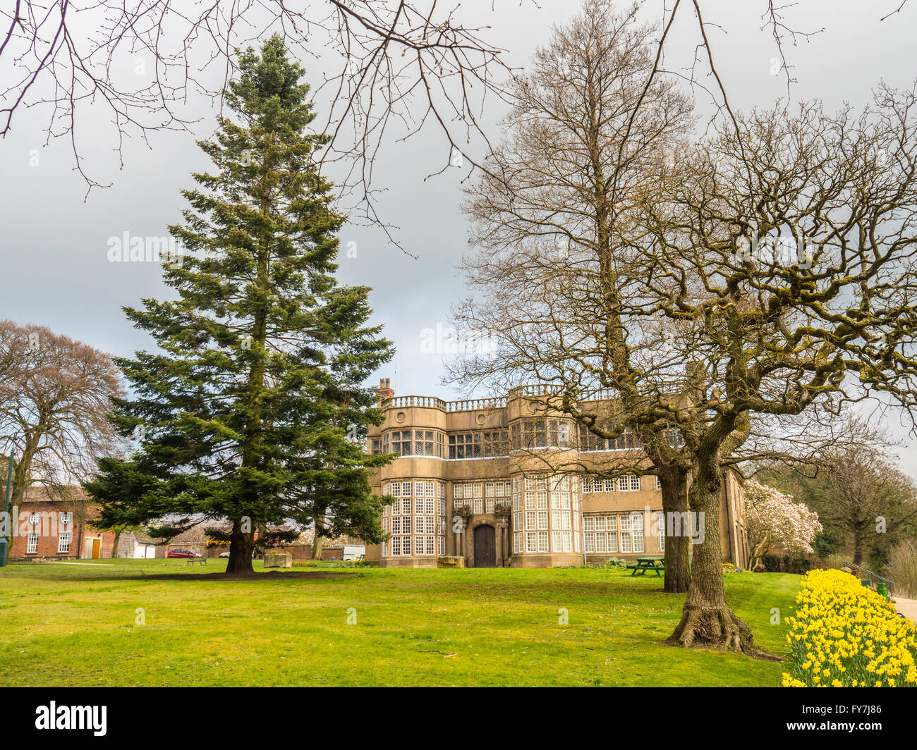 Astley Hall à Chorley Banque D'Images