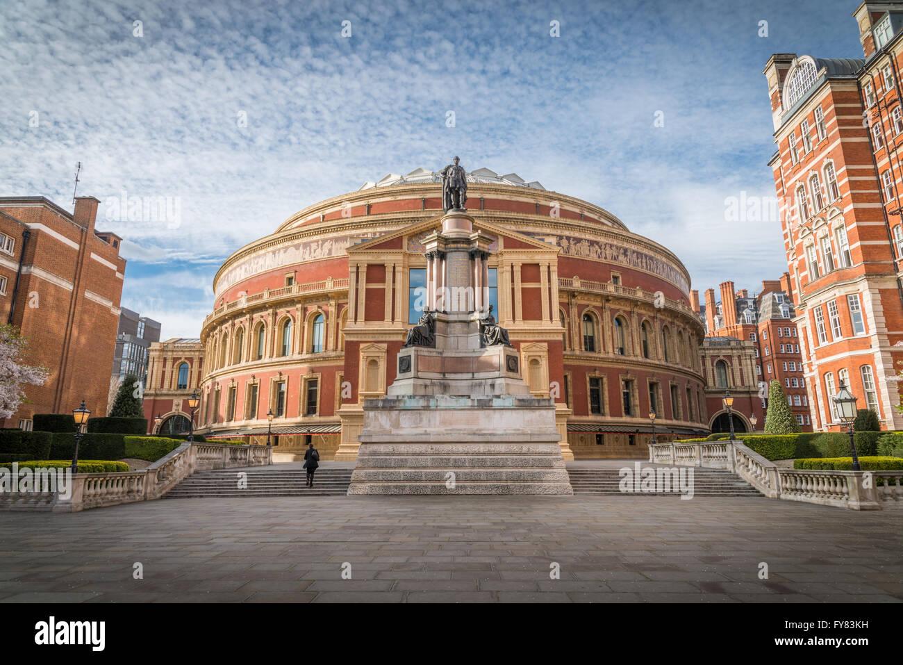 Albert Hall ouvert en 1871 avec une capacité de jusqu'à 5 272 places pour les concerts de musique Photo Stock