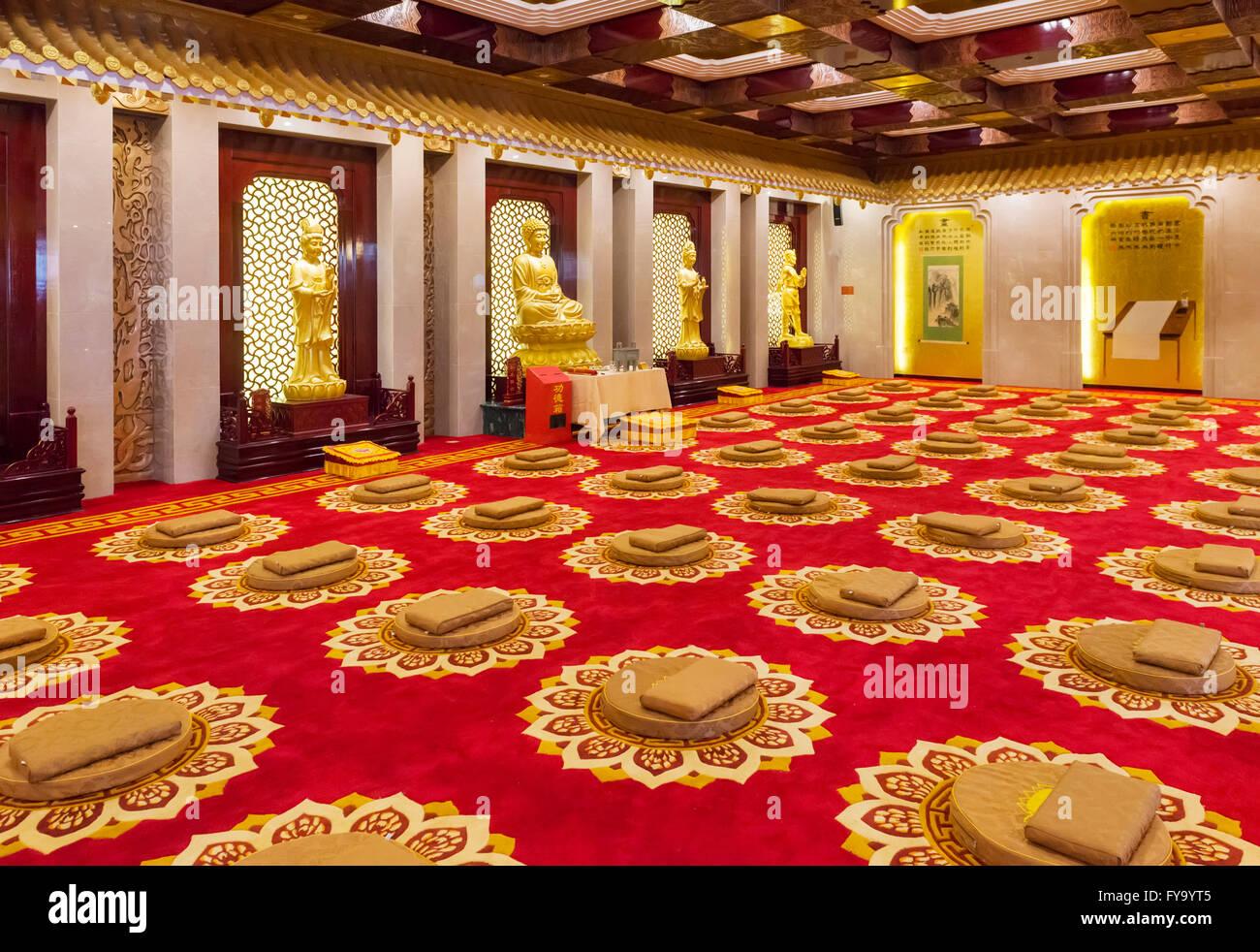 Décoration Salle De Méditation salle de méditation, chan wu hotel à dengfeng, zhengzhou