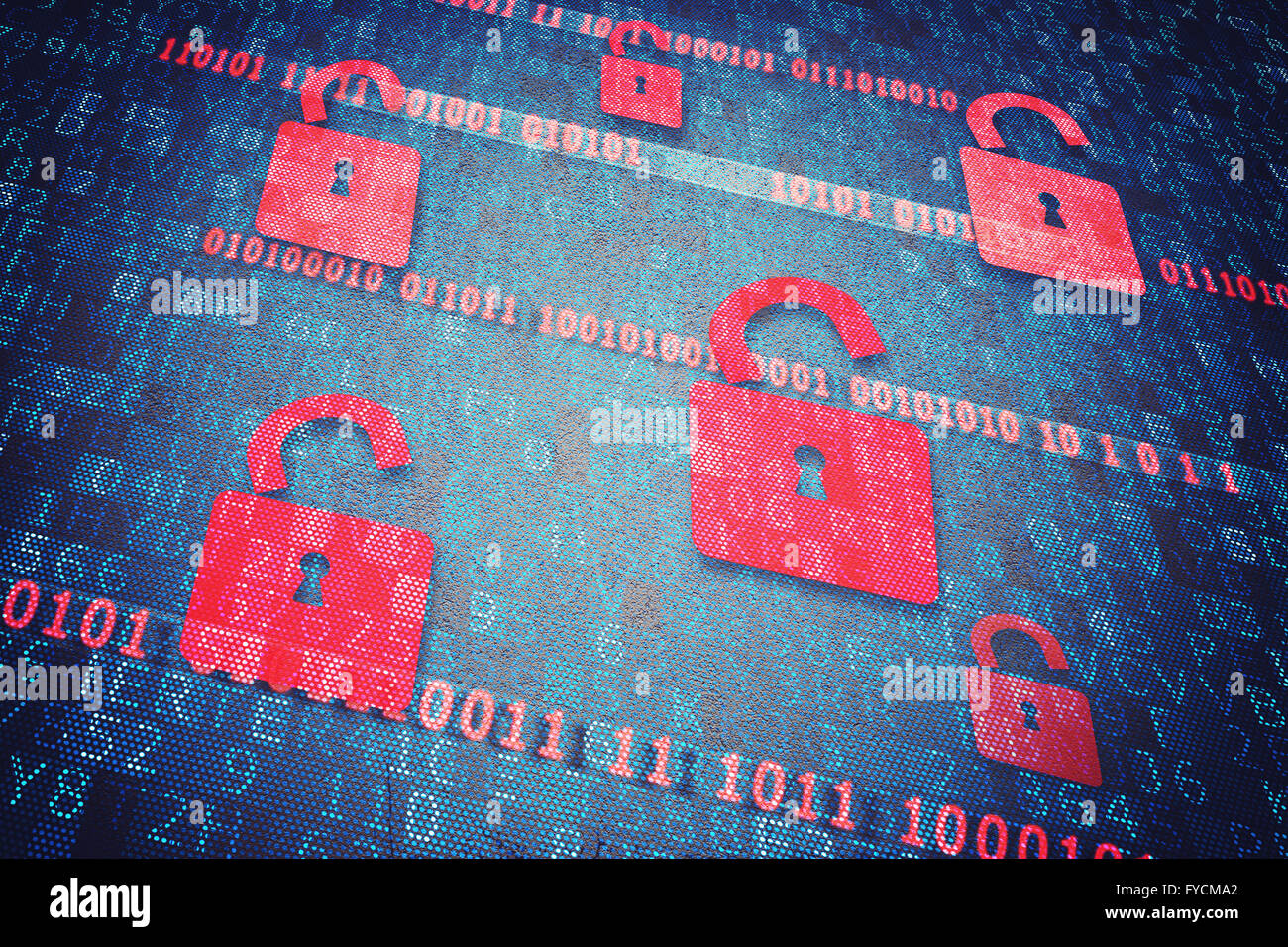Cadenas de sécurité Photo Stock