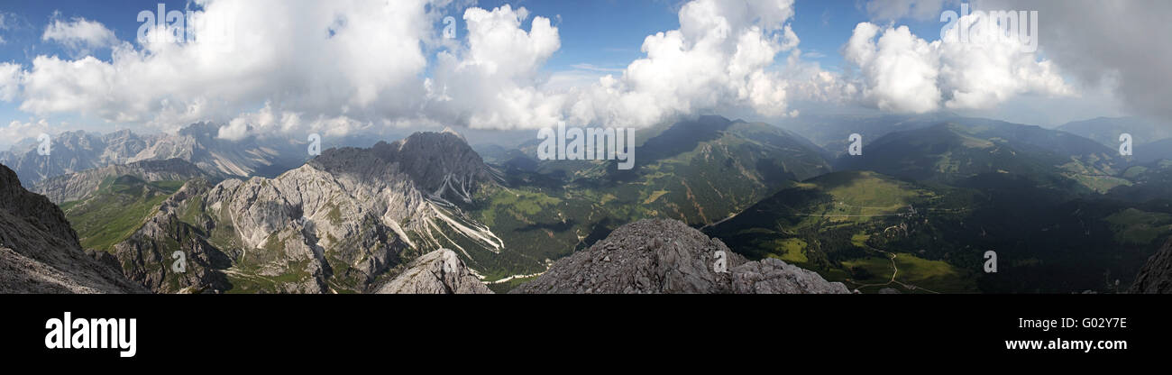 Nuage de sentiments Photo Stock