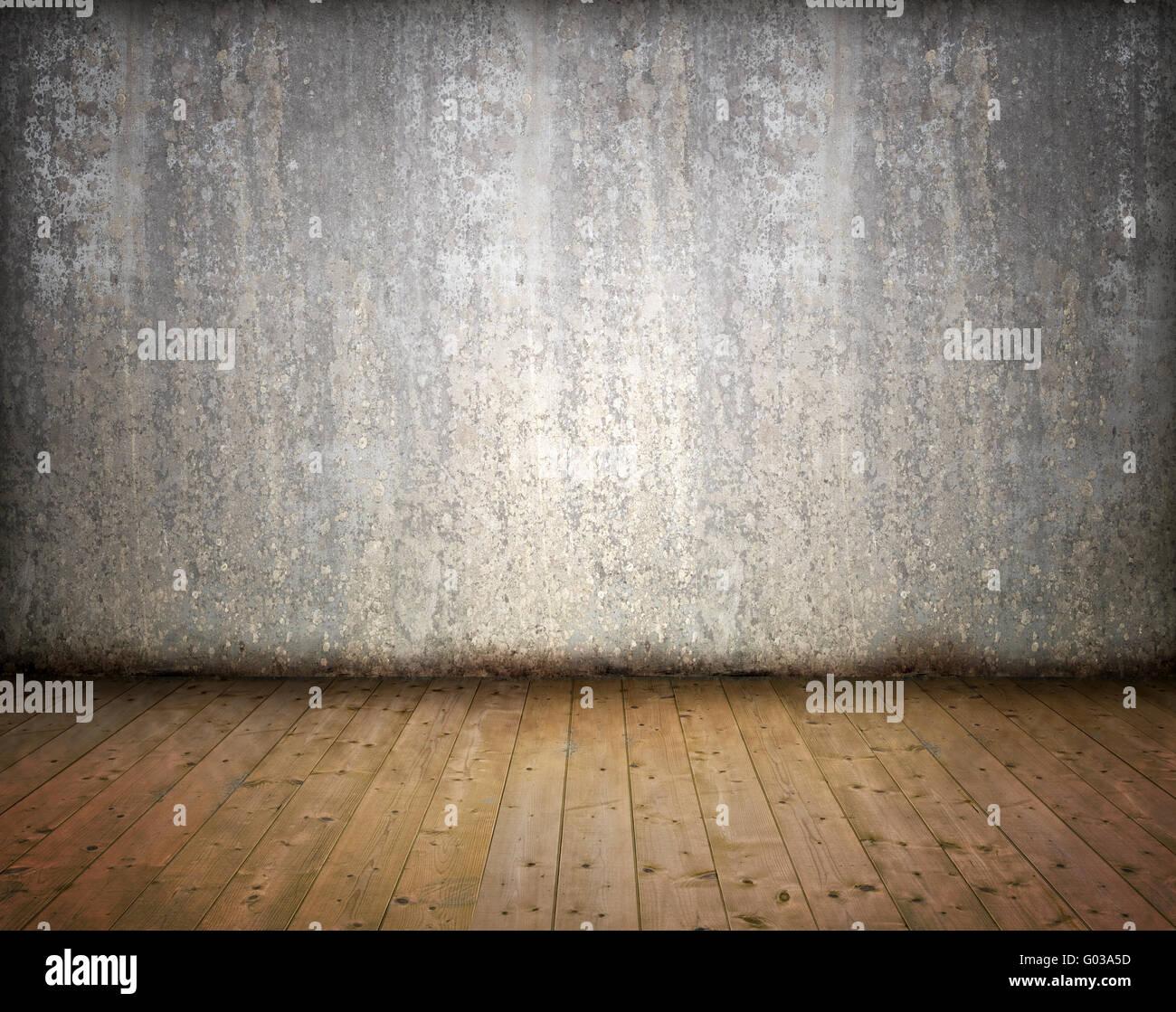 Abstract Grunge salle vide intérieur - image en arrière-plan Photo Stock