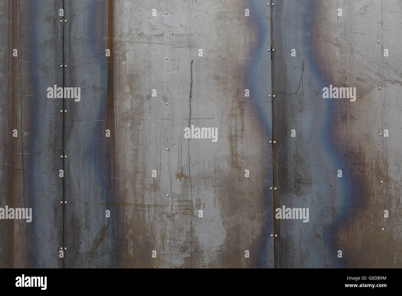 mur métal brut banque d'images, photo stock: 103556480 - alamy