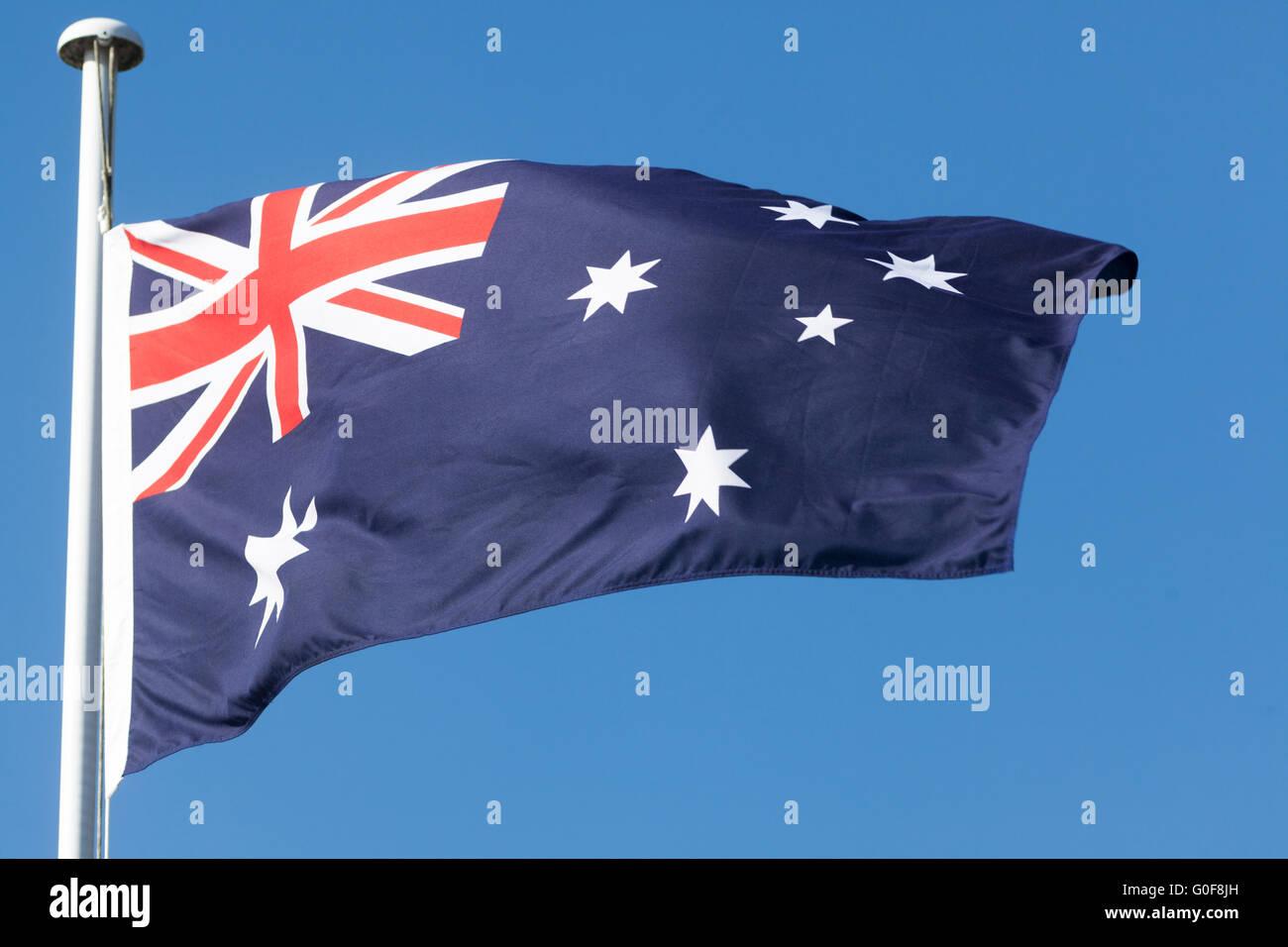 étoile Du Commonwealth Et Croix Du Sud étoiles Blanches Sur