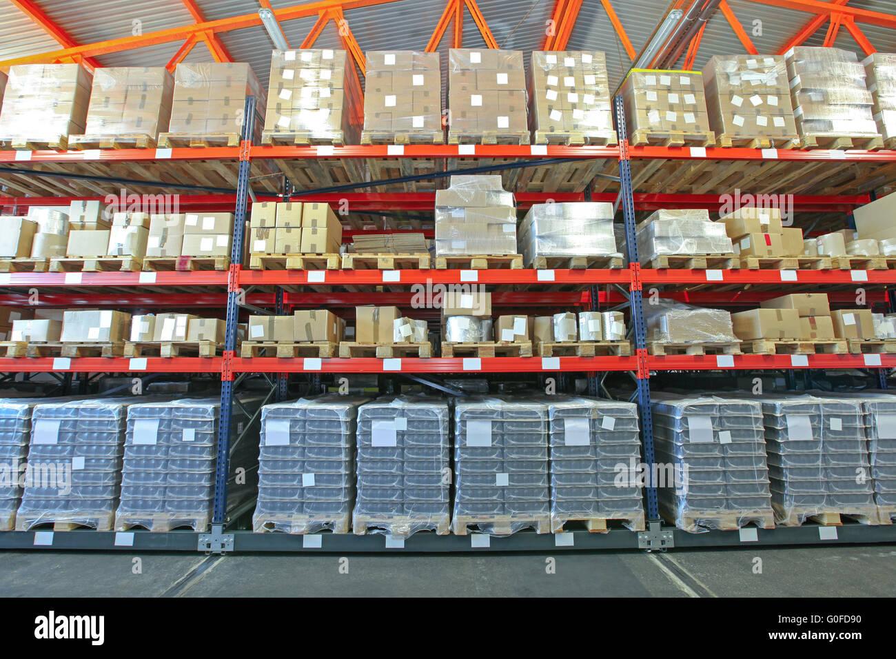 Système d'étagères Photo Stock