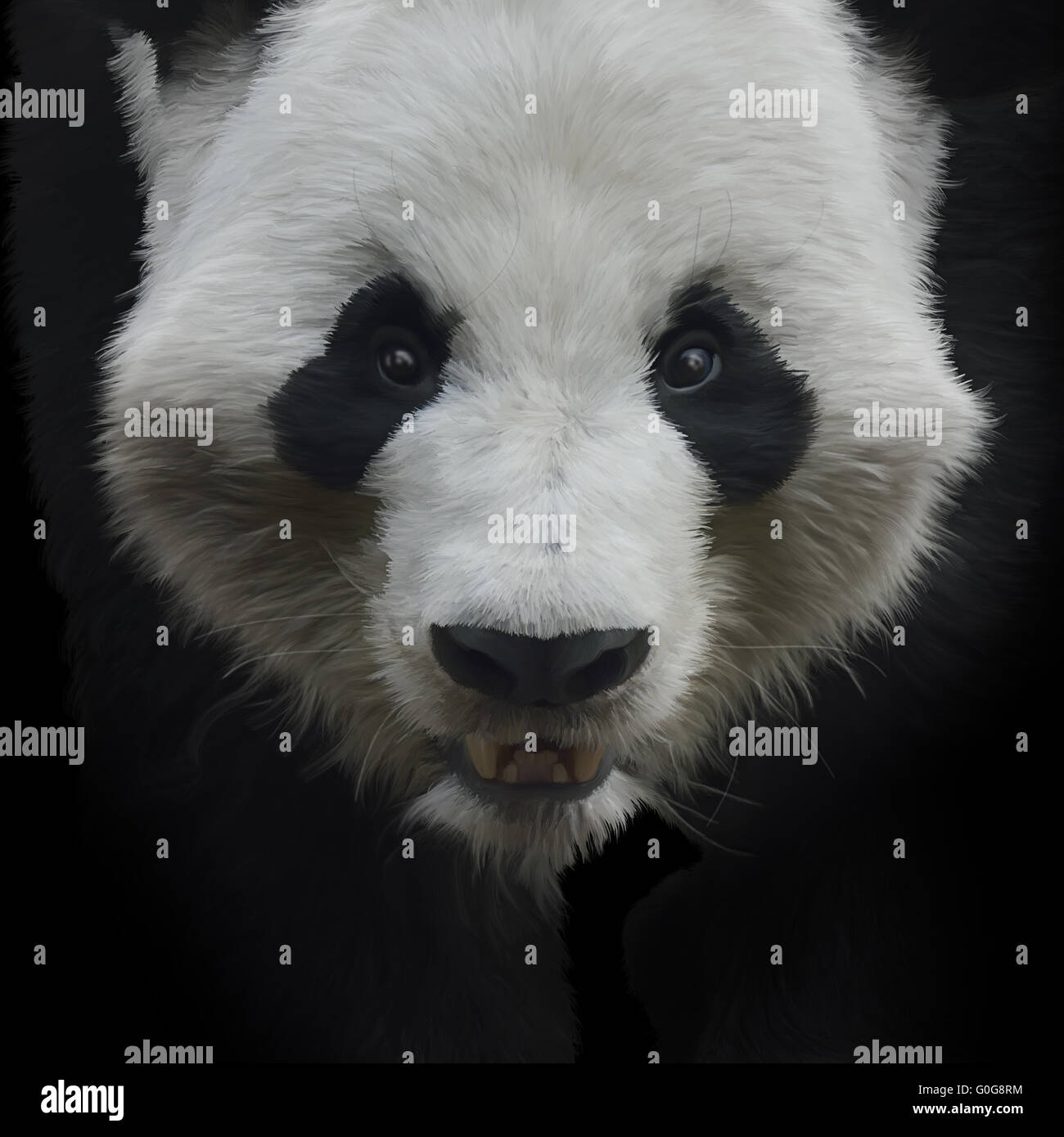 Ours Panda Géant Photo Stock