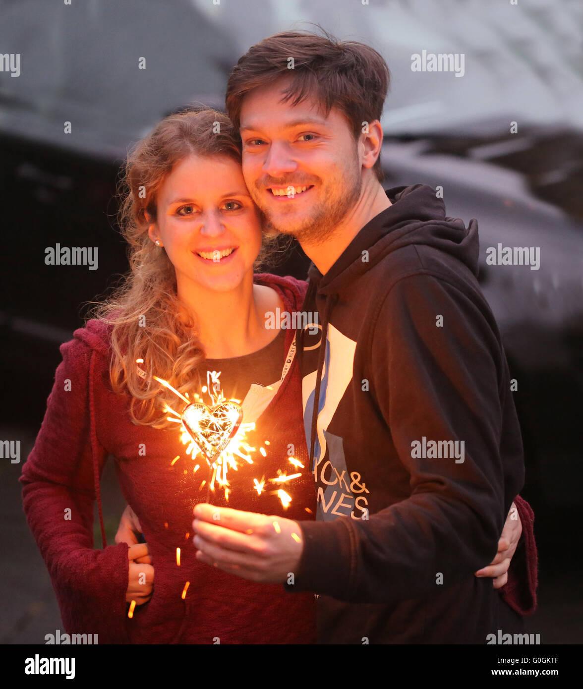 Amour Couple Banque D'Images