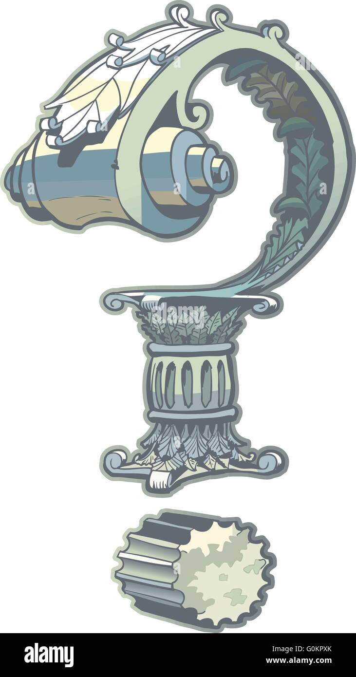 Vector Clip Art Illustration d'un point d'interrogation ...