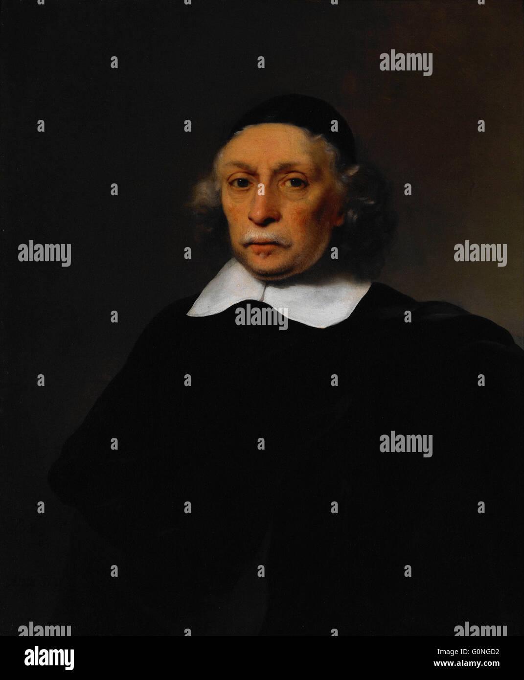 Bol, Ferdinand - Portrait d'un Érudit Photo Stock