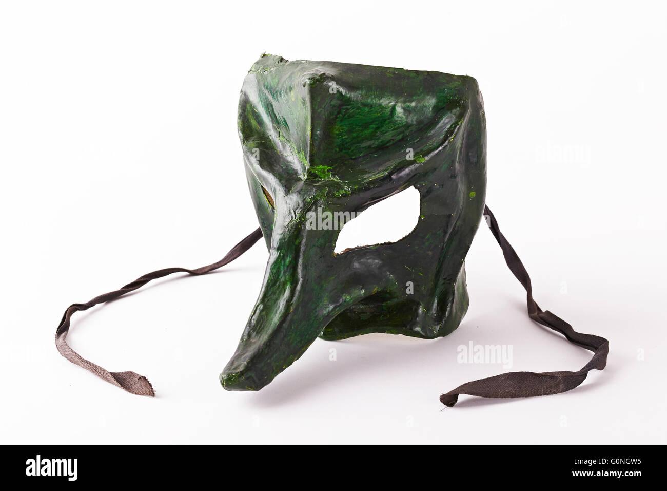 Masque en papier. Venezia. Veneto. L'Italie. Banque D'Images