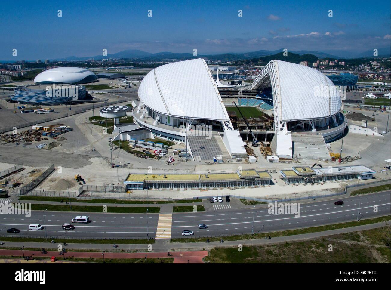 Sochi russie le 2 mai 2016 une vue a rienne du stade fisht un lieu de la coupe du monde de - Lieu coupe du monde 2018 ...