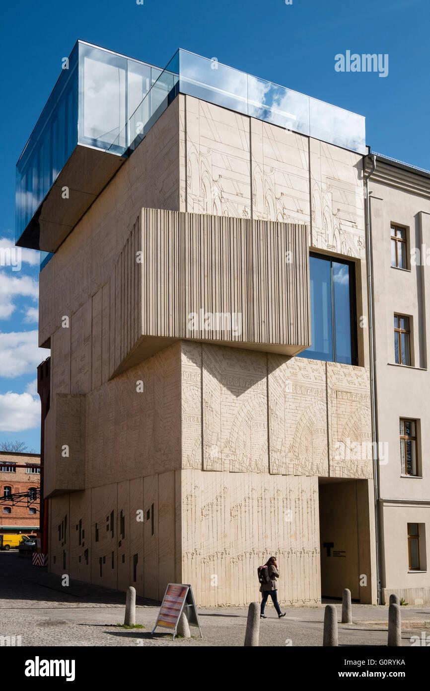 Tchoban Foundation; musée pour le dessin architectural à Prenzlauer Berg Berlin Allemagne Photo Stock