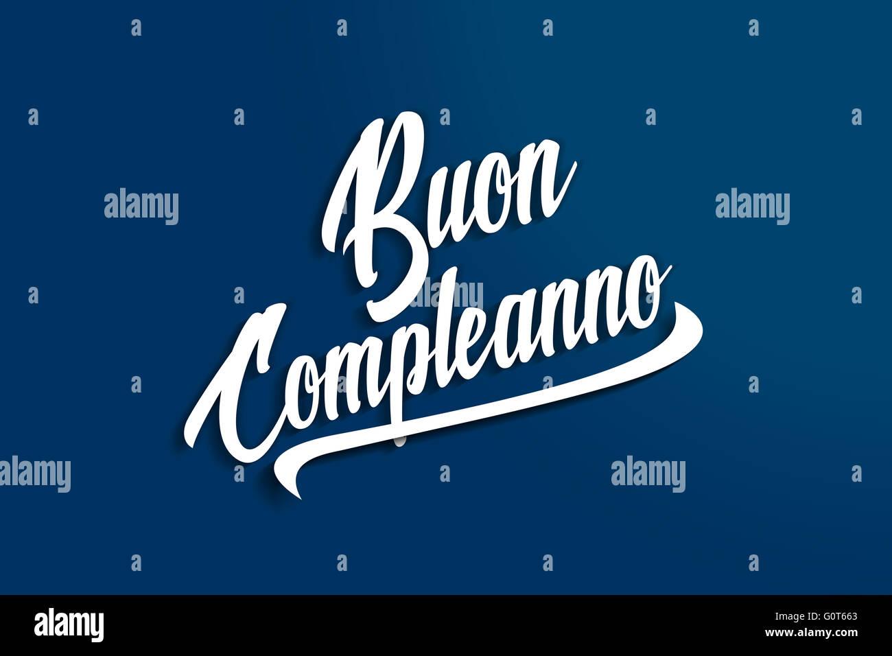Buon Compleanno Joyeux Anniversaire En Italien Anniversaire