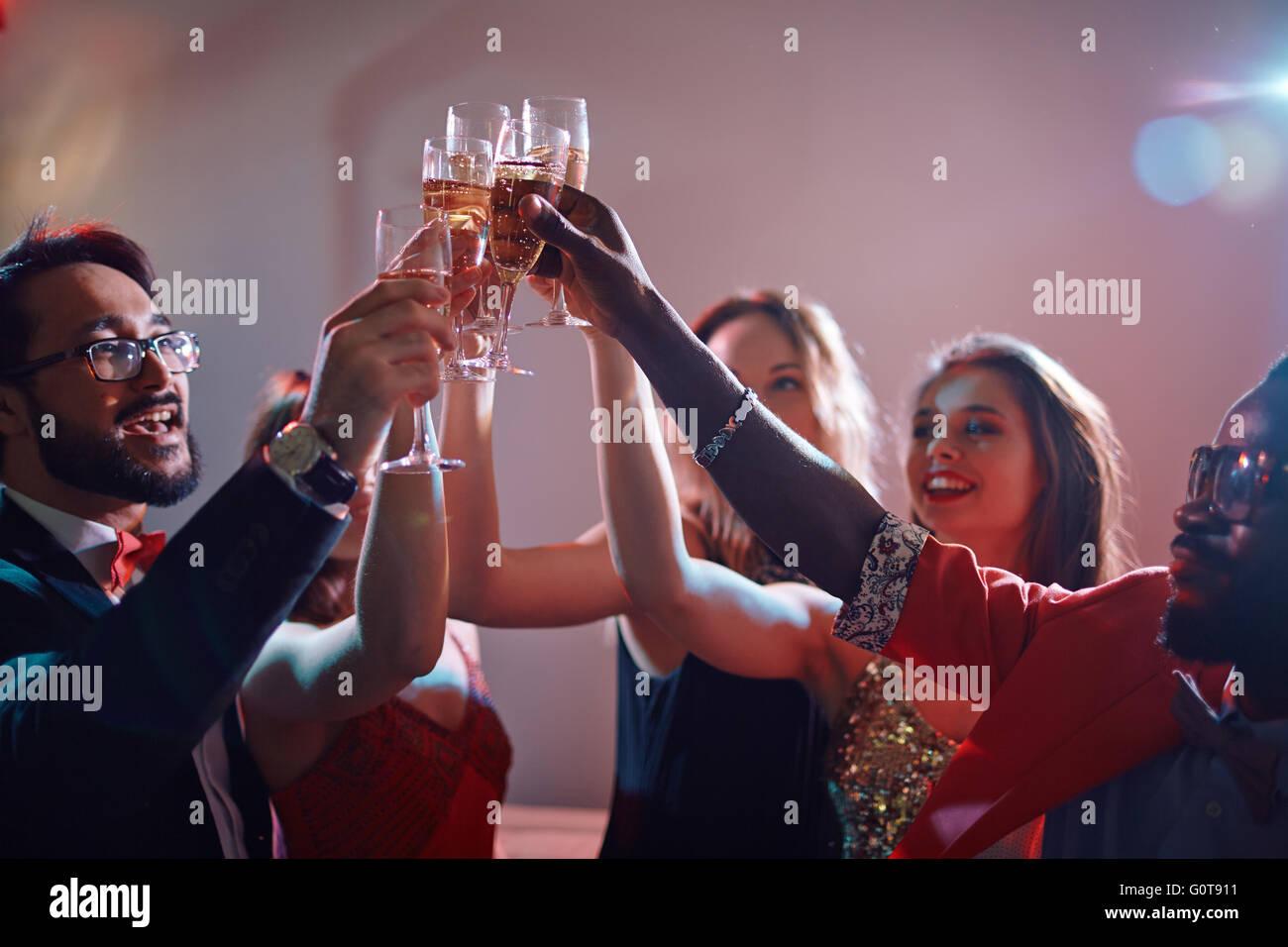 Boissons alcoolisées Photo Stock