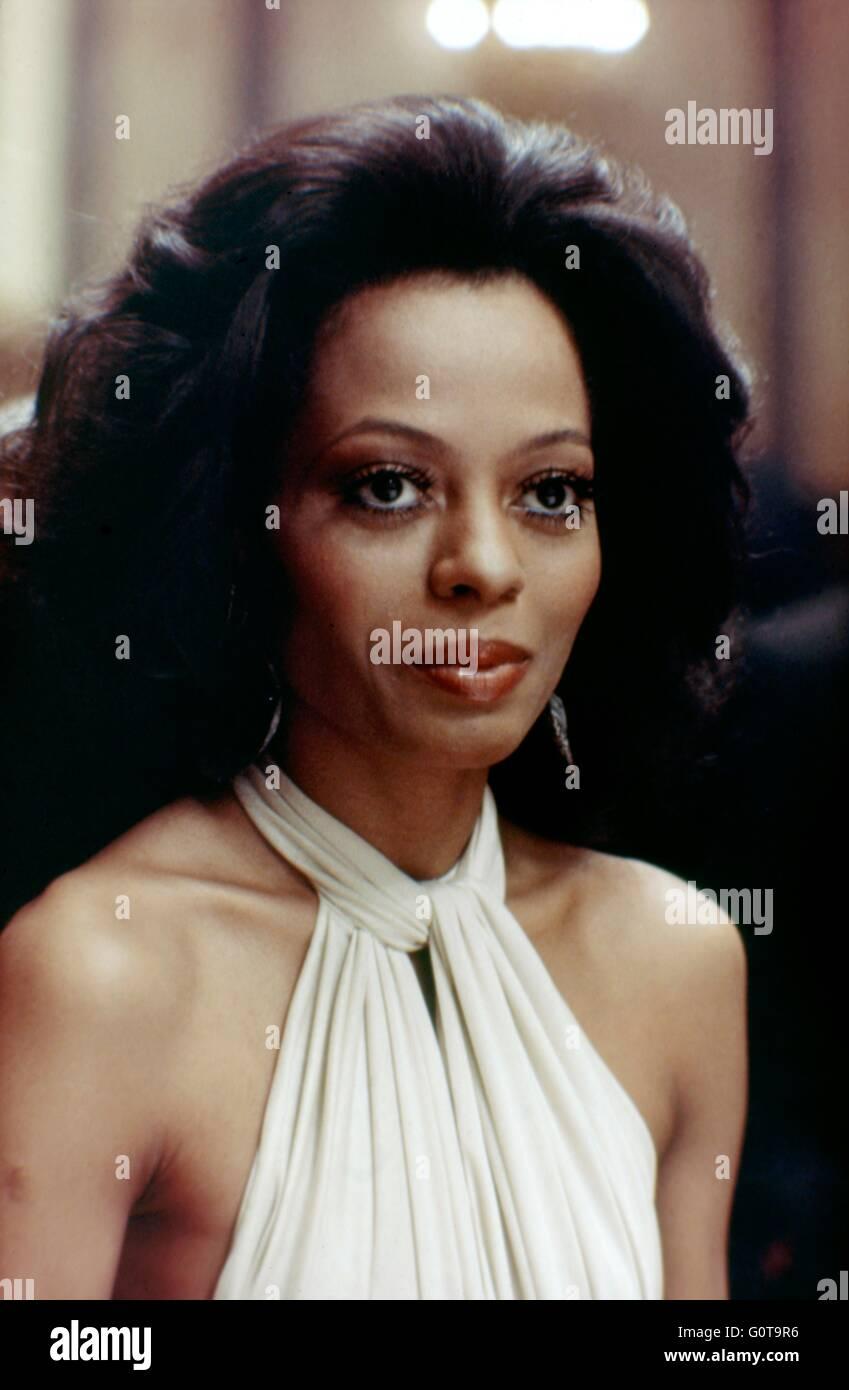 Diana Ross / Acajou / 1975 réalisé par Berry Gordy et Tony Richardson (Motown Productions / Nikor Productions / Paramount Pictures) Banque D'Images