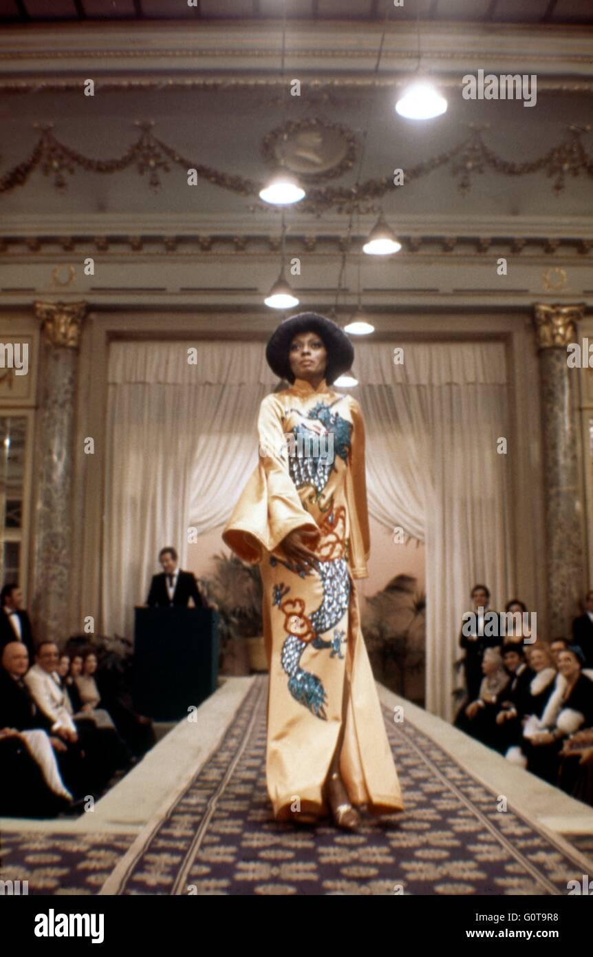 Diana Ross / Acajou / 1975 réalisé par Berry Gordy et Tony Richardson (Motown Productions / Nikor Productions / Banque D'Images
