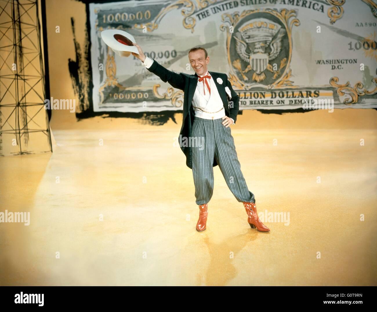 Fred Astaire / Daddy Long Legs / 1955 réalisé par Jean Negulesco (Twentieth Century Fox Film Corporation) Banque D'Images