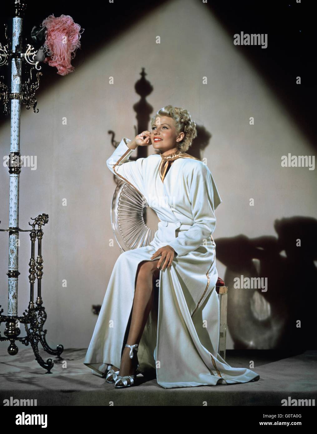 Rita Hayworth / La Dame de Shanghai / 1948 réalisé par Orson Welles (Columbia Pictures) Banque D'Images
