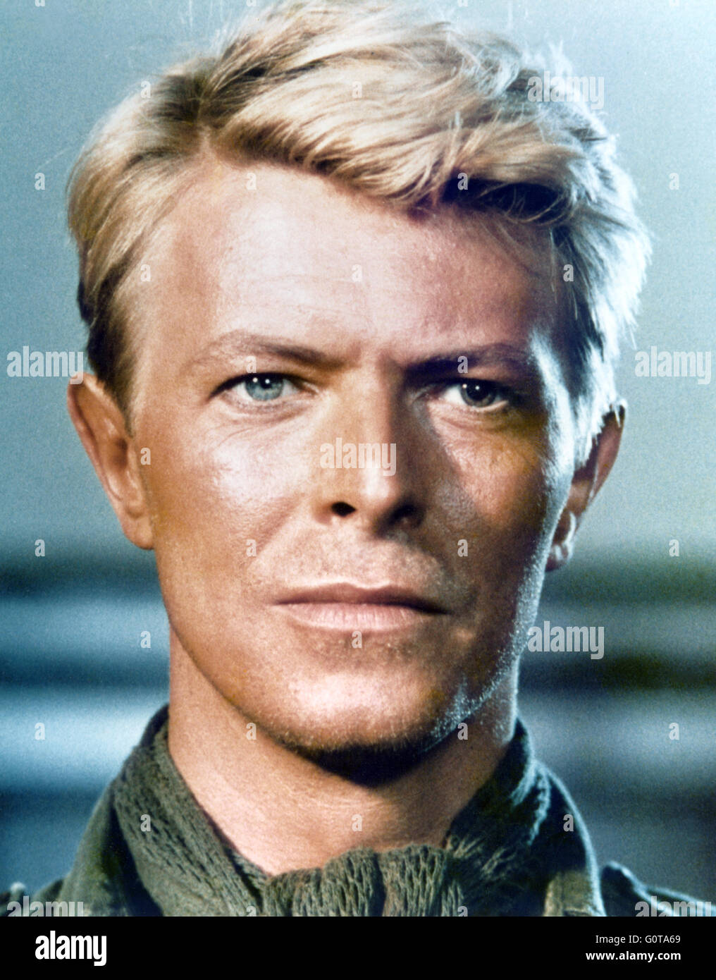 David Bowie dans Furyo (1983) réalisé par Nagisa Oshima Photo Stock