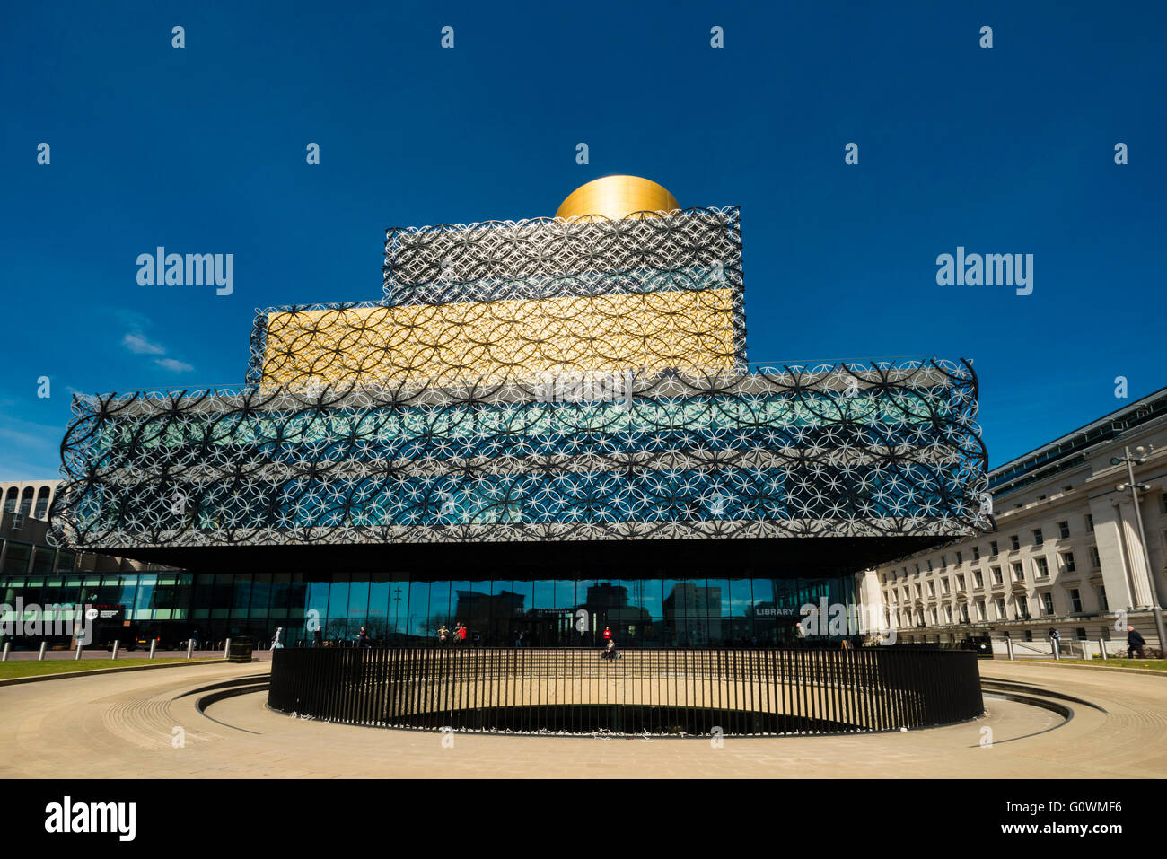 Library Birmingham, UK. Photo Stock