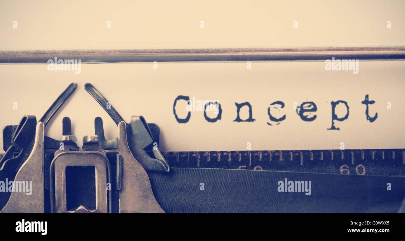 Image composite de message concept Photo Stock