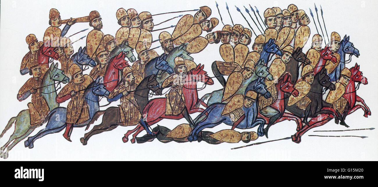 L'Empire byzantin (ou Byzance) était l'Empire romain durant l'Antiquité tardive et du Moyen Photo Stock