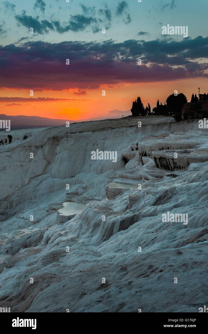 Pamukkale Turquie Photo Stock
