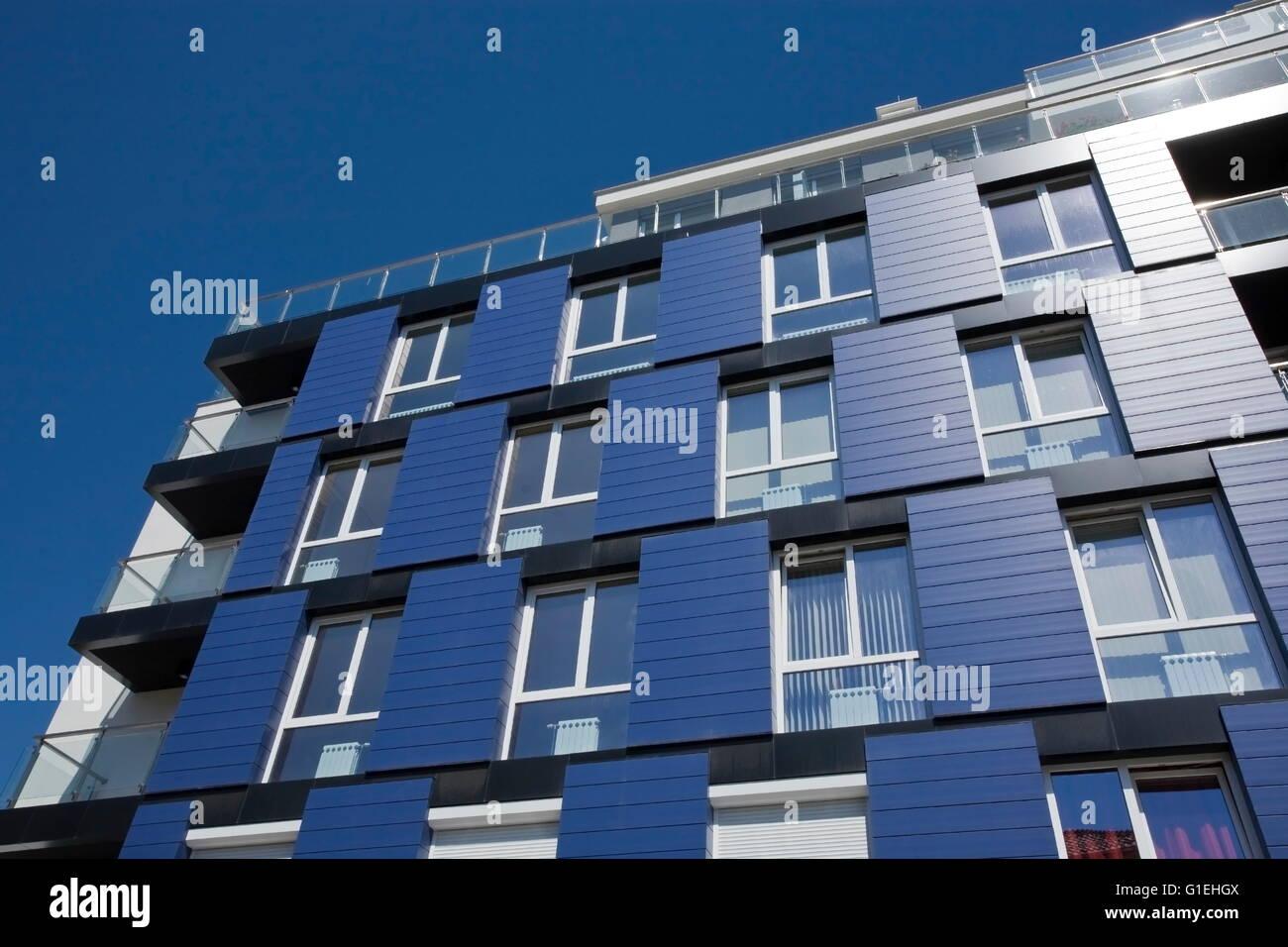 Apartment Building, architecture moderne, quartier moderne Banque D'Images