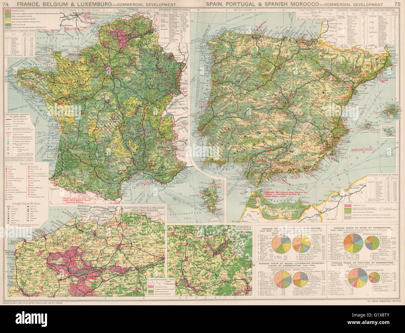 Carte Belgique Espagne.France Belgique Espagne Portugal Le Developpement