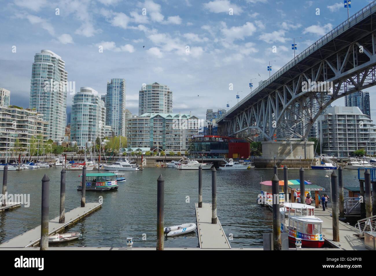 False Creek Vancouver Photo Stock