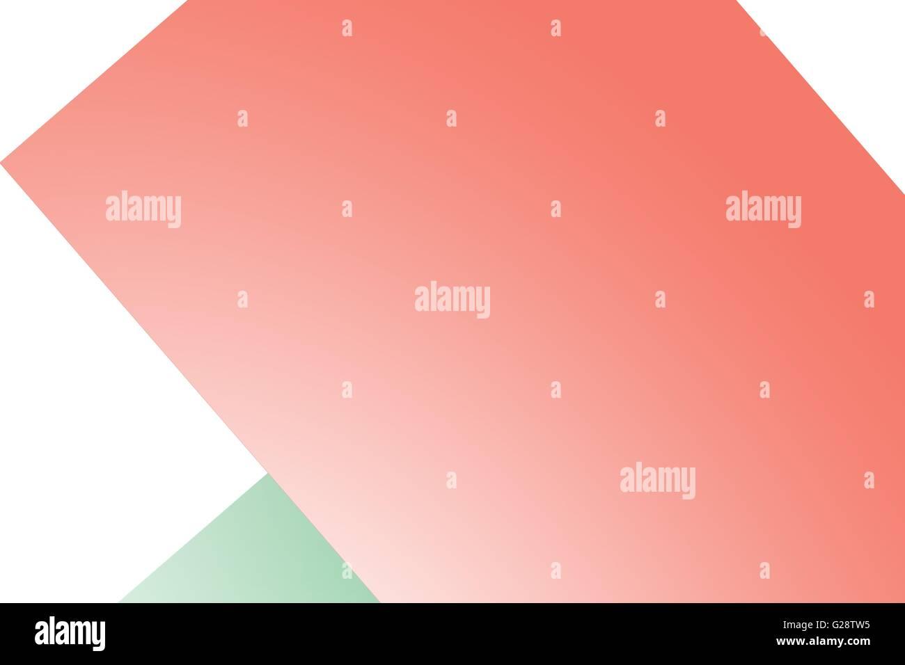Image générée numériquement de formes géométriques Photo Stock