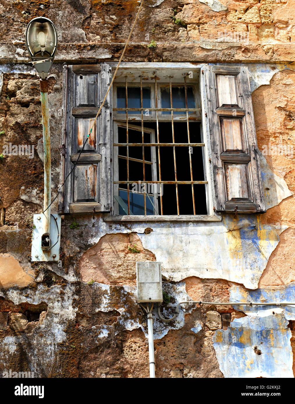 Fenêtre de Beyrouth Photo Stock