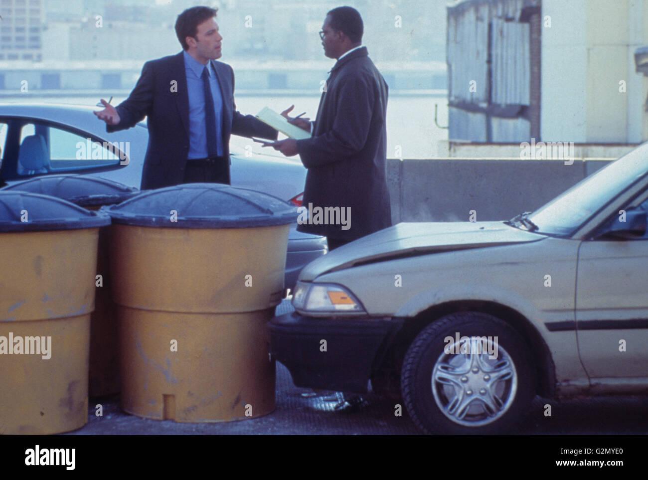 Ben Affleck, Samuel l. Jackson,changer de voie,2002 Photo Stock
