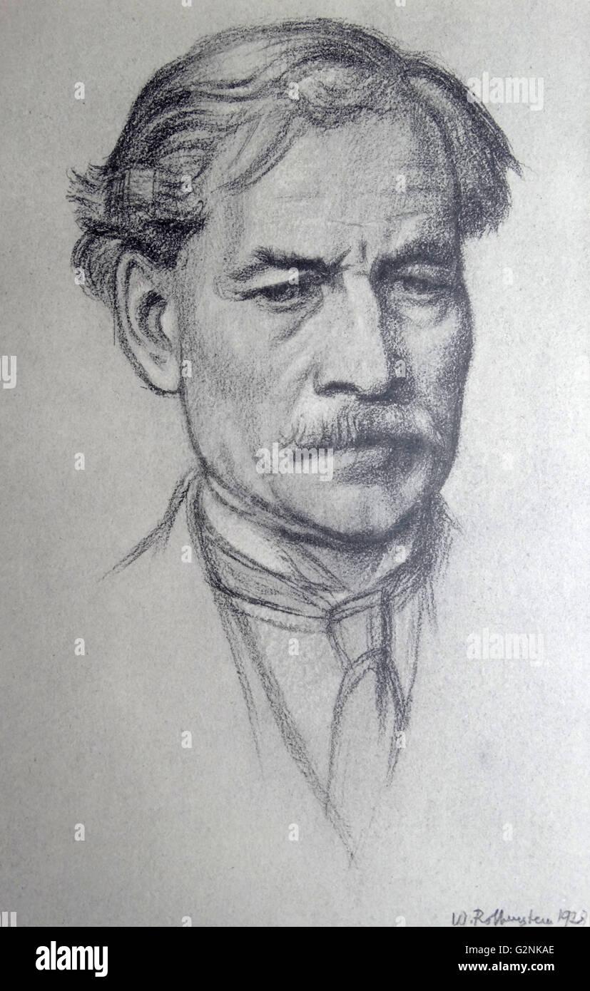 Portrait du très honorable J. Ramsay MacDonald Photo Stock