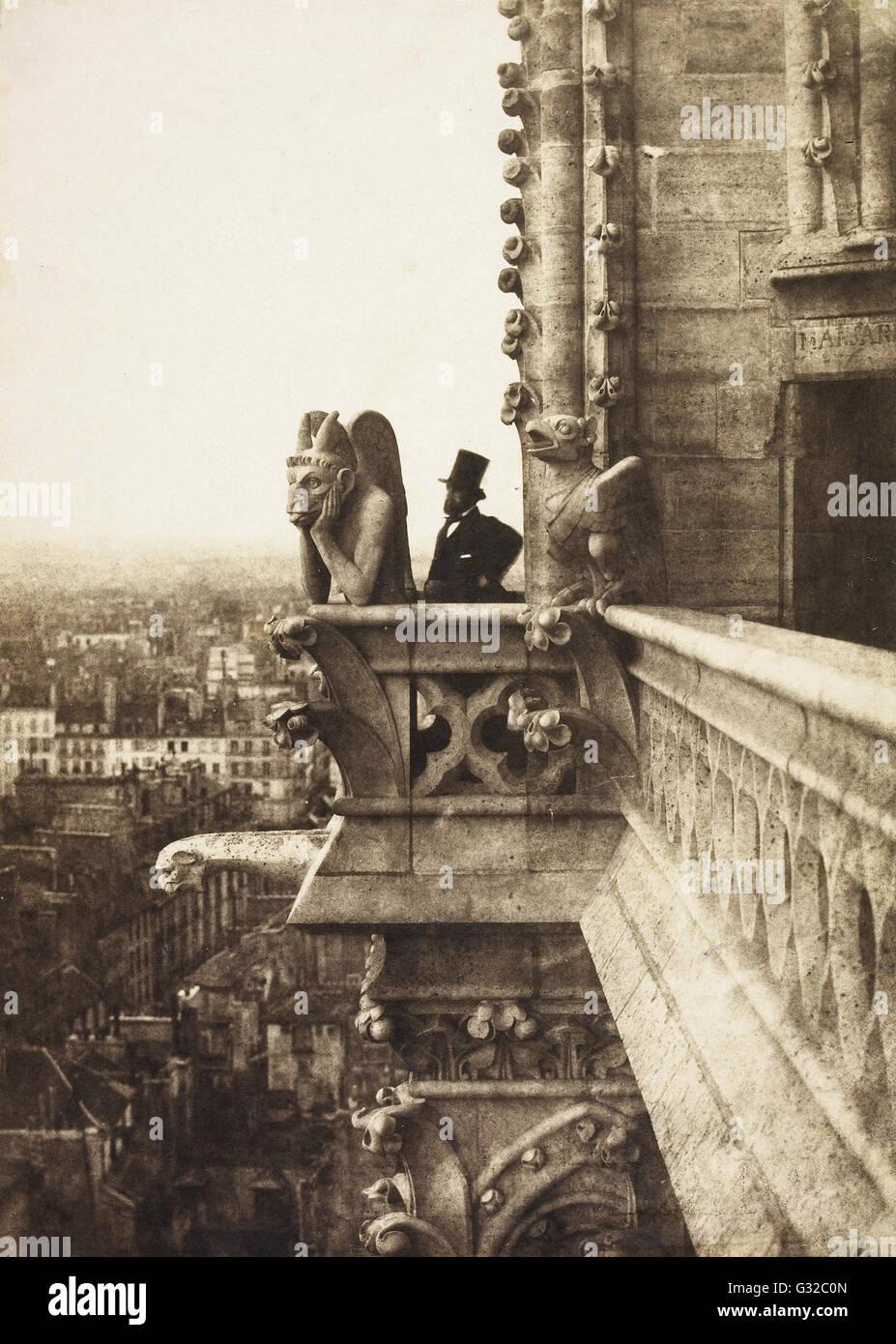 Charles Nègre - Le Vampire - Musée d'Orsay, Paris Photo Stock