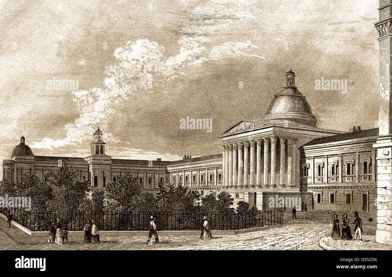 University College London, UCL, 19e siècle, une université de recherche publique à Londres, Angleterre Photo Stock