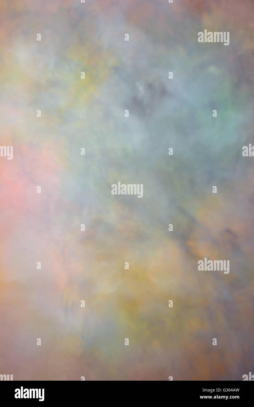 Taches colorées de la couleur avec le pinceau peint Photo Stock
