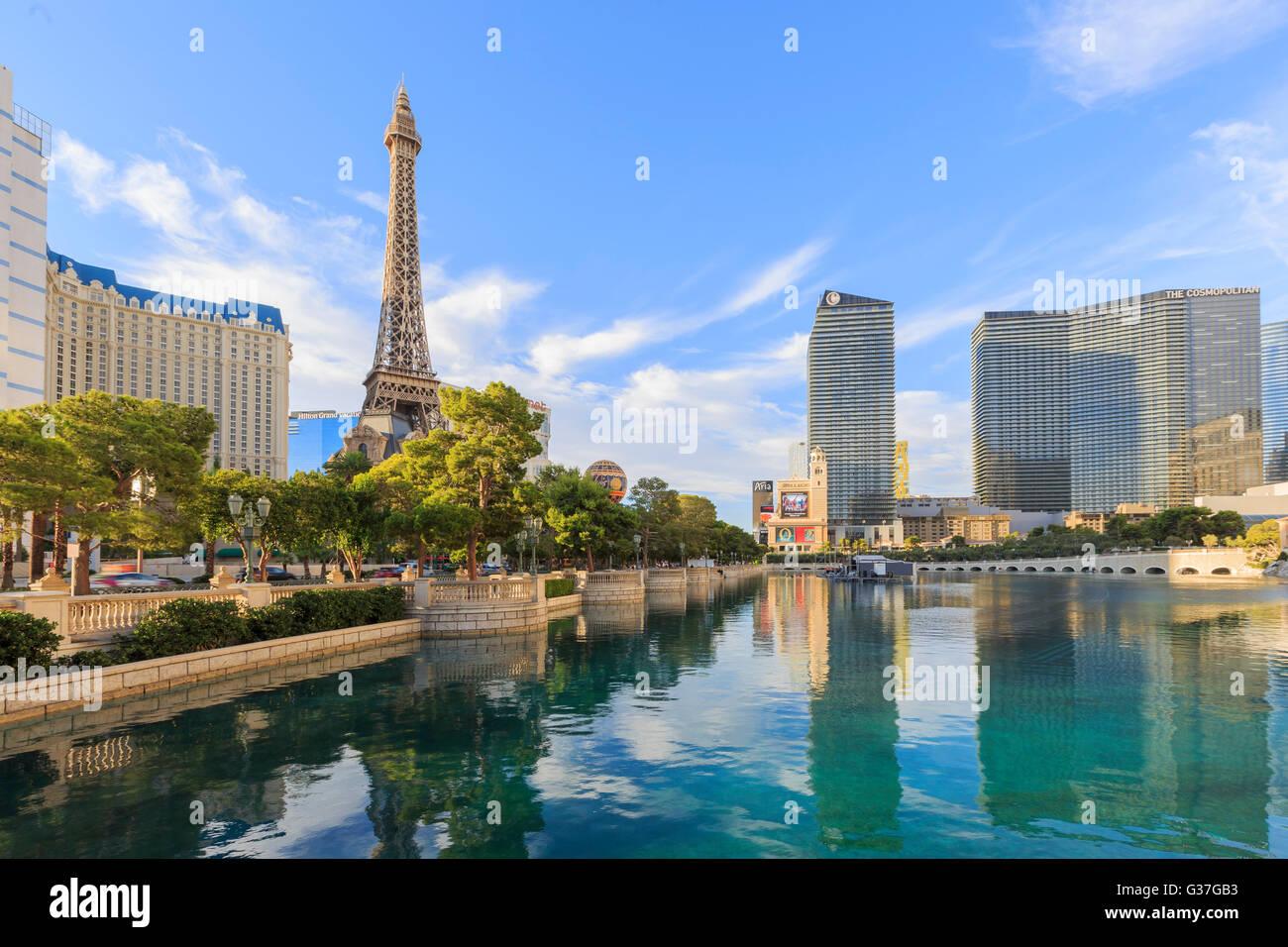 5 AOÛT, Las Vegas: Le célèbre Las Vegas Casino de Paris le 5 août 2015 à Las Vegas, Photo Stock