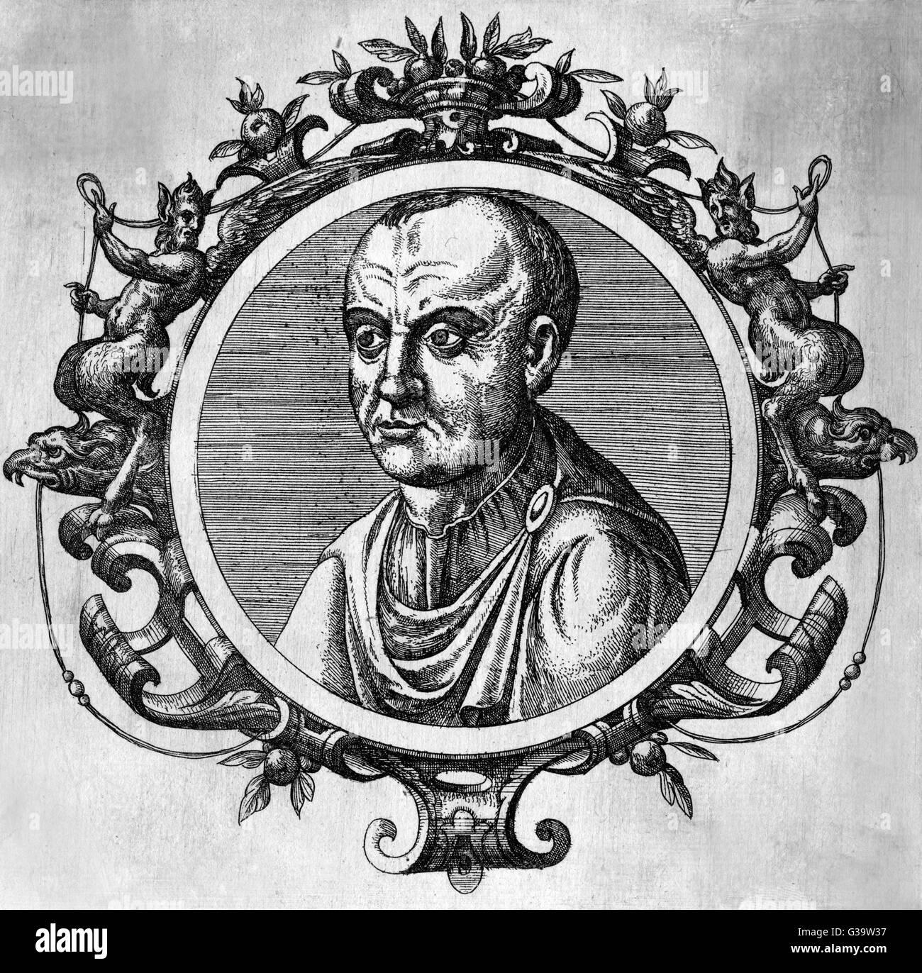 Héraclius de Tarente Empereur de l'Empire romain Date: 575 - 641 Photo Stock
