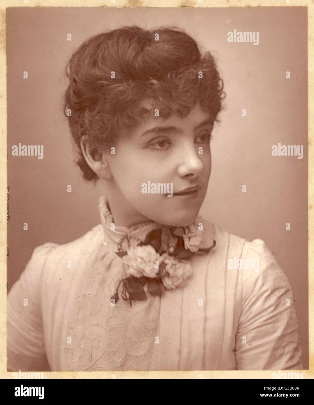 JESSIE BOND Actrice Date: 1890 Photo Stock