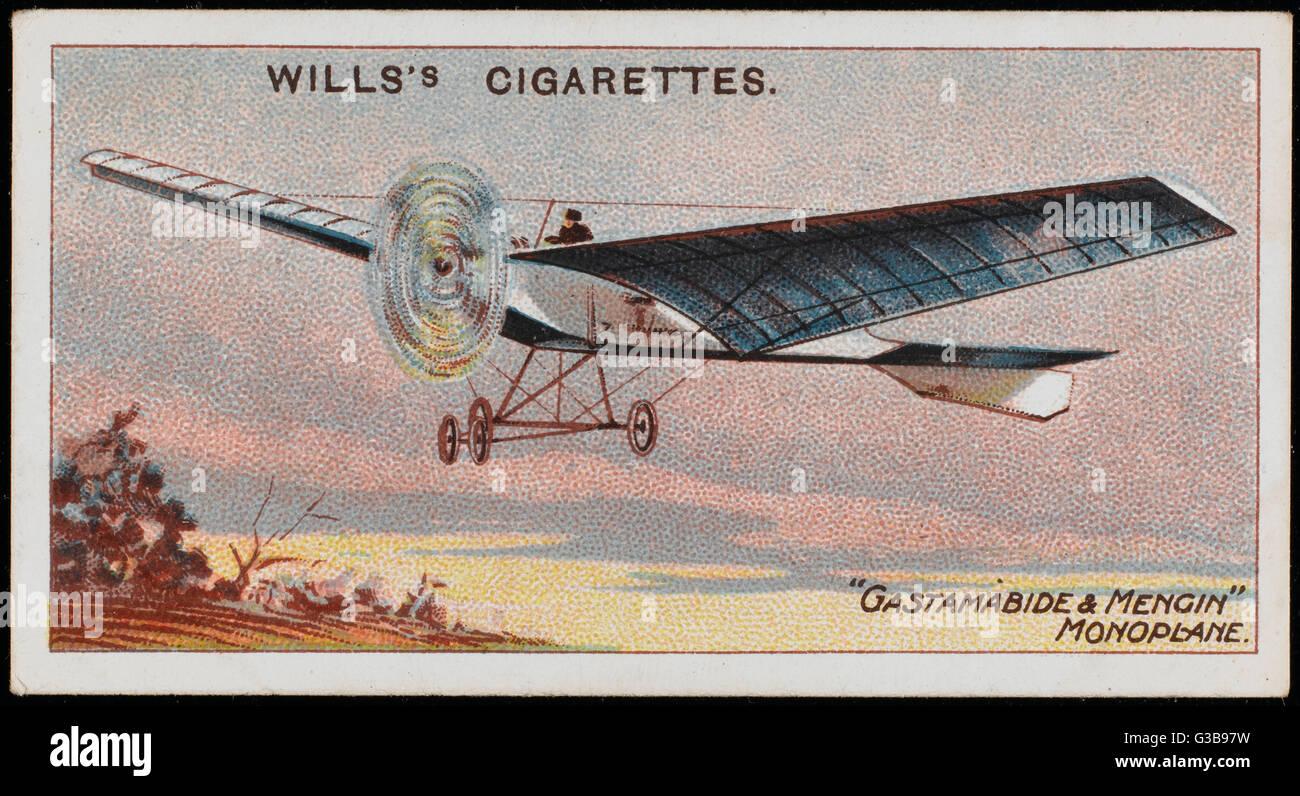 Levasseur's 'Gastambide- Mengin monoplan', la première d'une série (plus tard connu sous le nom de 'Charlotte'): plusieurs modèles de cette conception très avancées sont produits en 1908. Date: 1908 Banque D'Images